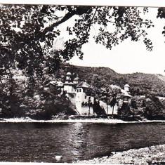 Carti Postale Romania dupa 1918 - RPR, CP circulata 1968 Cozia, raul Olt, manastire