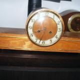 Ceas de semineu Junghans,mecanism rar