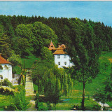 Carti Postale Romania dupa 1918 - CP circulata 1972, Sangeorz bai, pavilioanele 1 si 2