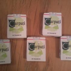 CARPATI TIGARI DE COLECTIE, TIGARI ORIGINALE CARPATI tutun Colectie PERSONALA - Pachet tigari