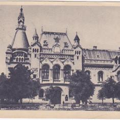 Carti Postale Romania dupa 1918 - RPR, CP circulata 1959, Oradea, Biblioteca regionala, sepia