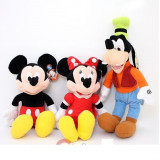 MICKEY MOUSE MINNIE SI GOOFY DIN PLUS MUZICALE DIN CLUBUL HOUSE MICKEY MOUSE - Jucarii plus