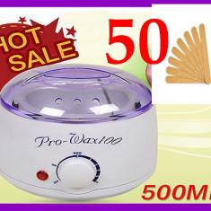 Produse epilare BeautyUkCosmetics - DECANTOR APARAT INCALZITOR EPILAT CEARA TRADITIONALA PRO WAX 100