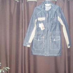 Geaca barbati, Bumbac - Jacketa Blue Jeans barbateasca BERSHKA