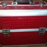 Geanta cosmetica, beauty case, geanta manichiura / farduri profesionale