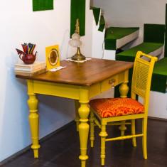 Mobilier - Set masa (birou) stejar