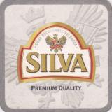 Suport de pahar / Biscuite SILVA - Cartonas de colectie
