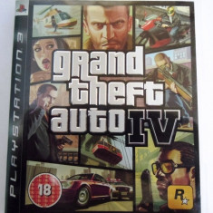 Joc GTA IV, Grand Theft Auto 4, PS3, original! Alte sute de jocuri! - Jocuri PS3 Rockstar Games, Actiune, 18+, Single player