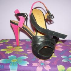 Sandale Esprit - Sandale dama Esprit, Marime: 36, Culoare: Negru