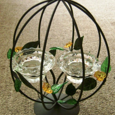 Ornamente Craciun - Suport Lumanari - decoratiune Craciun