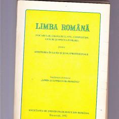 LIMBA ROMINA VOCABULAR, GRAMATICA, STIL . CONPOZITIE .GNURI SI SPECII LITERARE - Teste Bacalaureat