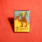 Insigna turistica -Zagora -Maroc, h= 2, 3 cm