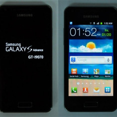 Vand samsung galaxy s advance cu garantie - Telefon mobil Samsung Galaxy S Advance, Negru, 8GB, Neblocat
