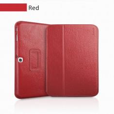 Husa Executive Case Piele Naturala Samsung Galaxy Tab3 10.1 P5200 by Yoobao Originala Red - Husa Tableta