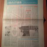 Ziarul muncitorul sanitar 21 februarie 1981