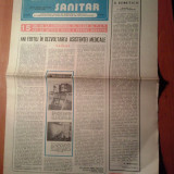 Ziarul muncitorul sanitar 5 iulie 1980