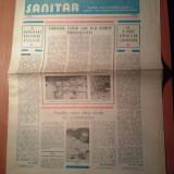 Ziarul muncitorul sanitar 14 martie 1981
