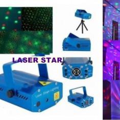 Lumini club - Mega set lumini disco compus din SCANNER LUMINI CU LEDURI, STROBOSCOP 150 WATT SI LASER ROSU+VERDE ACTIVARE LA MUZICA. PROMOTIE!