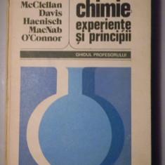 CHIMIE, EXPERIENTE SI PRINCIPII - Ghidul profesorului - Colectiv de autori - Carte Chimie