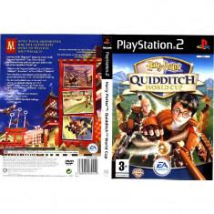Joc original PS2 Harry Potter Quidditch World Cup (3+) English 1-2 players (transport gratuit la comanda de 3 jocuri diferite) - Jocuri PS2 Ea Games, Actiune, 3+, Multiplayer