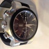 ORIS TT1 (Big Crown) chronograph, automatic, cutie - Ceas barbatesc, Mecanic-Automatic, Inox, Cauciuc, Cronograf, Analog