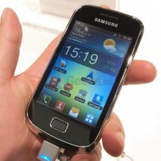 Telefon mobil Samsung Galaxy Mini 2, Negru, Neblocat - Samsung Galaxy Mini 2