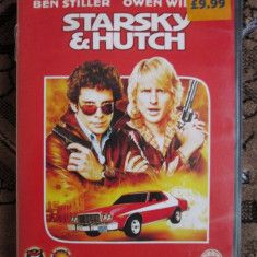 STARSKY and HUTCH - cu BEN STILLER si OWEN WILSON - film DVD (original din Anglia, in stare impecabila!!!) - Film comedie, Engleza