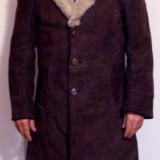Cojoc piele miel NOU - Palton barbati, Marime: 50, Maro