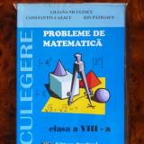 Manual Clasa a VIII-a, Matematica - Probleme de Matematica VIII editura Cardinal 2009