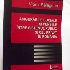 ASIGURARILE SOCIALE SI PENSIILE INTRE SISTEMUL PUBLIC SI CEL PRIVAT IN ROMANIA - VIOREL SALAGEAN - Carte Resurse umane