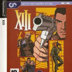 JOC PS2 XIII ORIGINAL PAL / STOC REAL / by DARK WADDER - Jocuri PS2 Ubisoft, Actiune, 12+, Single player