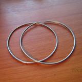 Cercei mari rotunzi cod 121157 - Cercei argint