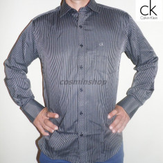 Camasi CALVIN KLEIN Model NOU de Sezon !!! - Camasa barbati Calvin Klein, Marime: S, M, Culoare: Negru, Maneca lunga