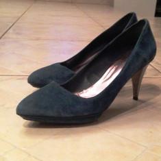 Pantofi ZARA - Pantof dama Zara, Marime: 41, Culoare: Bleumarin, Bleumarin
