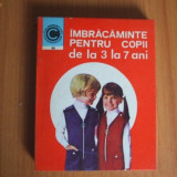 Carte design vestimentar - H6 I Imbracaminte pentru copii de la 3 la 7 ani - Georgeta Stoean