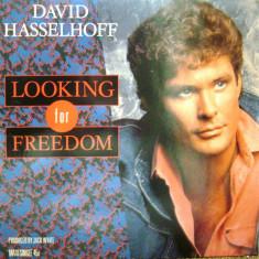 Disc vinil - David Hasselhoff – Looking For Freedom - 1988 - Muzica Rock & Roll Altele