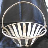 Metal/Fonta - Cos mare alama argintata provine din Germania