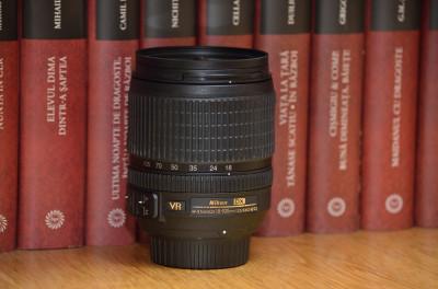 Nikon AF-S DX NIKKOR 18-105mm f/3.5-5.6G ED VR + filtru UV - livrare gratuita ! foto
