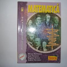 Matematica manual pentru cls-a IX-a M.Becheanu, Bogdan Enescu, rF1/3 - Manual scolar teora, Clasa 9, Teora