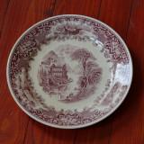Farfurie deosebit portelan Cambridge - Old England - Staffordshire - Made in England