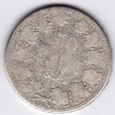 Monede Romania - 7.Romania, 50 BANI 1894, argint, moneda RARA