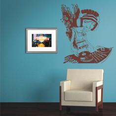 Tatuaj de perete, Sticker Decorativ - DJ - Tapet