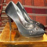Pantofi dama eleganti mar 36, Marime: 36, Negru