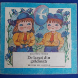 Carte poezie copii - CARTE POEZII COPII - VALENTINA TECLICI - DE LA NOI DIN GRADINITA ( ILUSTRATII STELA CRETU ) - BUCURESTI - 1986