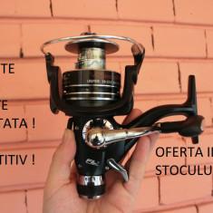 Mulineta - Set 4 Mulinete FL VioSteeze 5000 10 rulmenti cu baitruneer ( Bait-runner ) Idela Pescuit crap / Feeder