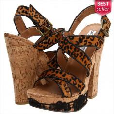 100% AUTENTIC - Sandale NAUGHTY MONKEY Bourdois - Sandale cu Toc - Sandale dama Tommy Hilfiger, Femei - Sandale Piele Naturala - Sandale Originale NAUGHTY MONKEY