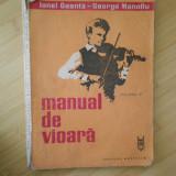 IONEL GEANTA--MANUAL DE VIOARA VOL. III - Carte Arta muzicala