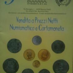Vendita a Prezzi Netti Numismatica e Cartamoneta-Italia, toate monedele care au aparut in Italia, inclusiv cele din aur, 200 roni, taxele postale gratuite