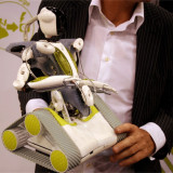 Sisteme de alarma - Supraveghere monitorizare video foto casa copii Spykee WiFi Spy Robot