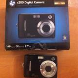 Aparat Foto compact HP, Compact, 14 Mpx, 3x, 2.7 inch - Aparat foto digital hp c200 nou+ card memorie 2gb